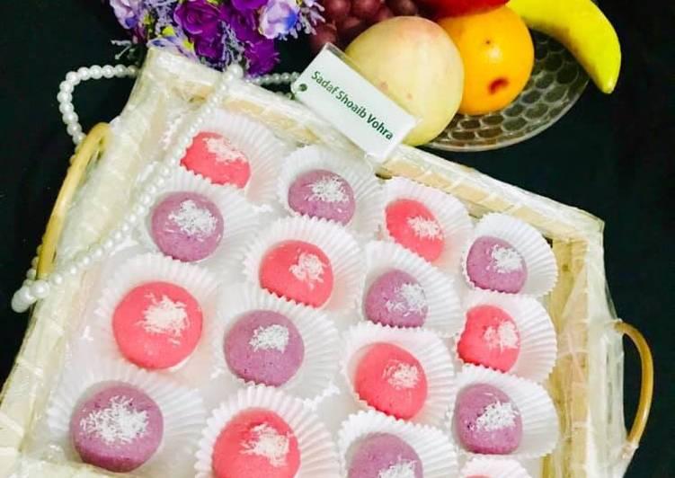 Steps to Prepare Quick Coconut Mithai