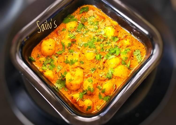 Baby Potato Korma