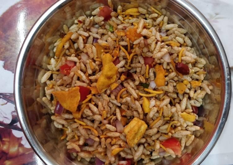 5 Minute Steps to Make Special Bhelpuri