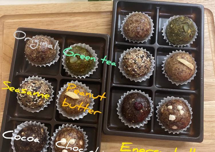 Recipe: Appetizing Healthy Energy Balls