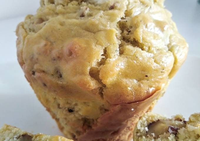 Muffins roquefort et noix