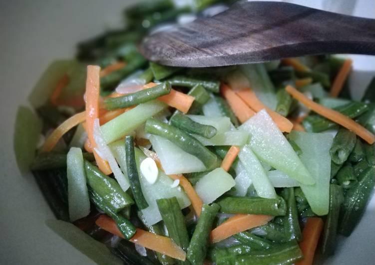 Tumis Sayuran Kilat