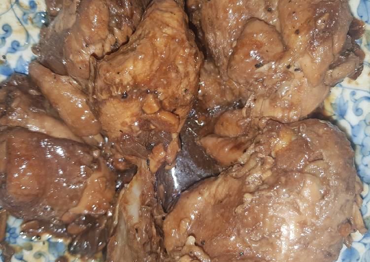 Recipe of Super Quick Homemade Filipino Chicken Adobo