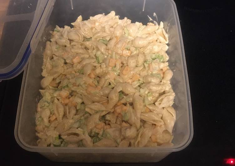 Steps to Prepare Delicious Macaroni Salad