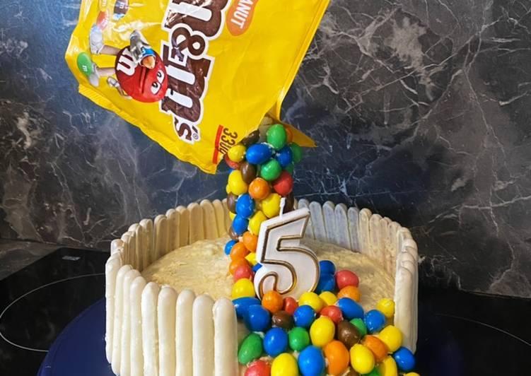 69• 🎂 Gravity Cake Vanille et crème au beurre noisette 🌰