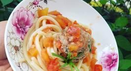 Hình ảnh món Meatball Spaghetti  #teamtrees ??