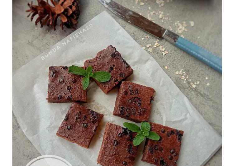 Resep Chocolate Banana Oat Cake Anti Gagal