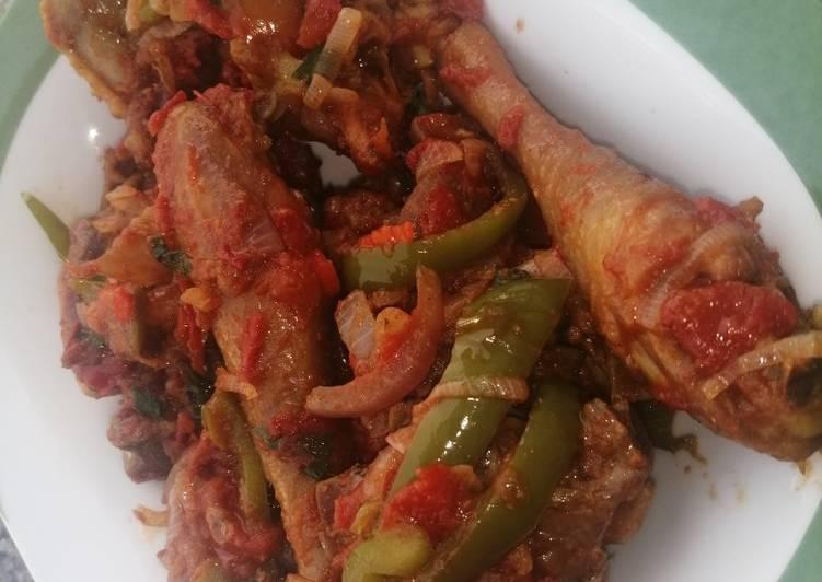 Traditional Kenyan Chicken Stew