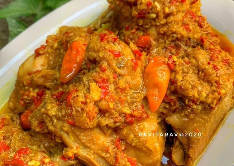 Ayam Betutu Gilimanuk (ala dapur tita) #CABEKU