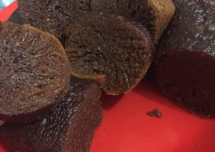 resep membuat Bolu karamel (sarang semut) - Sajian Dapur Bunda
