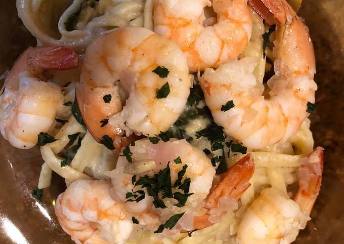 Celebration Pasta with Shrimp