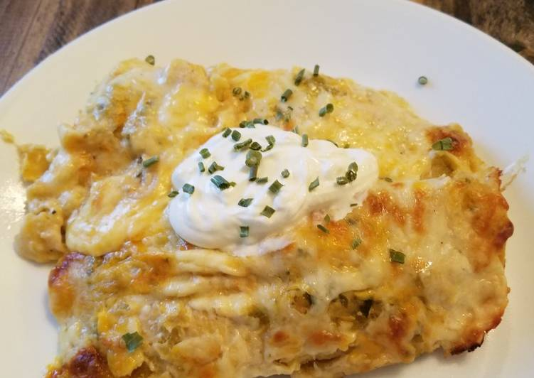 Chicken Suizas Enchiladas