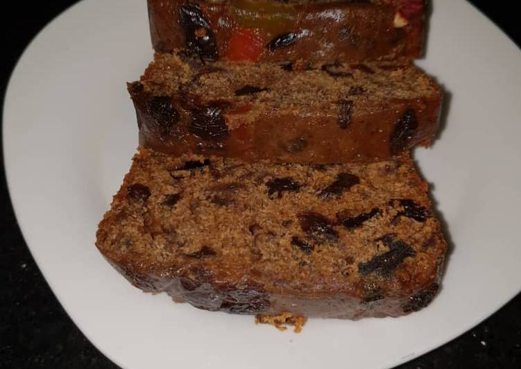Easiest Way to Cook Appetizing Christmas Fruit Cake
