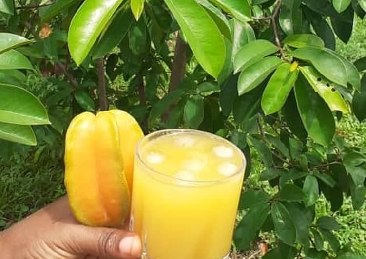 Star fruit juice