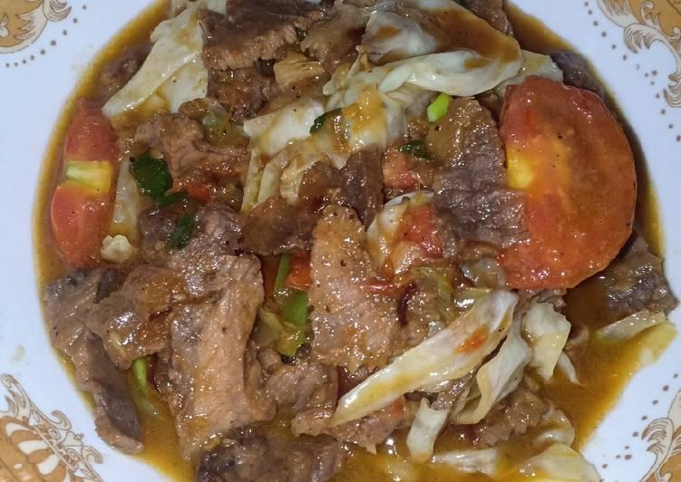 Resep Tongseng Daging Sapi Pedas Yang Mudah Lezat