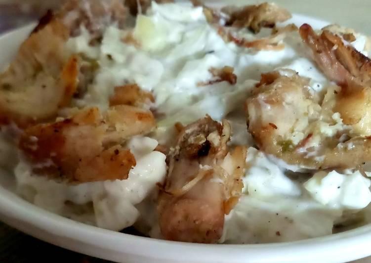 Chicken mayo salad