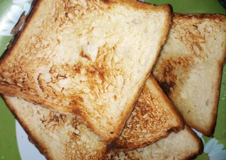 Recipe of Favorite Pan toasted bread