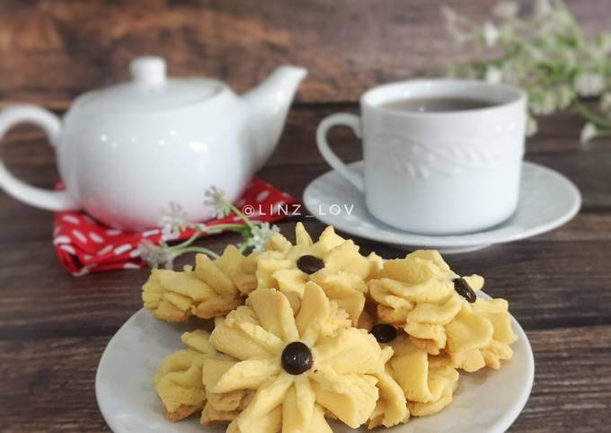 Kue kering Semprit choco chip mudah anti gagal - resep kue kering - kue lebaran