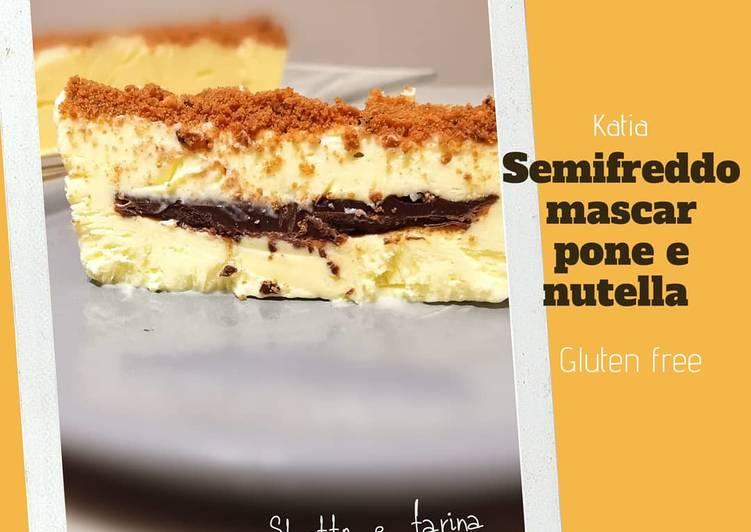 Ricetta Semifreddo mascarpone e nutella (Katia)