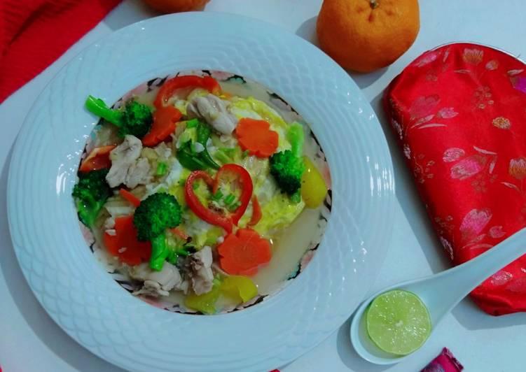 Koay Teow Panjang Umur(Cantonese Noodles)