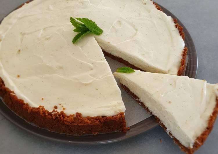 Cheesecake spéculoos et citron vert