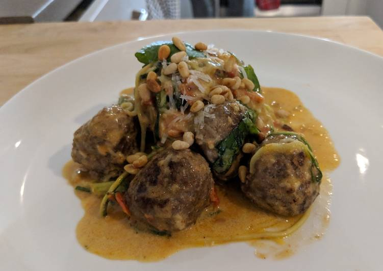 Easiest Way to Prepare Award-winning Courgetti and Meatballs