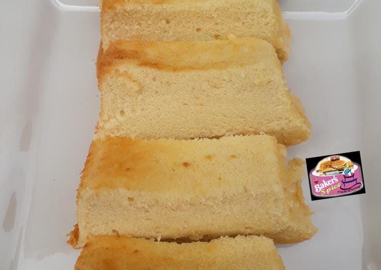 Recipe of Perfect Yoghurt sponge cake