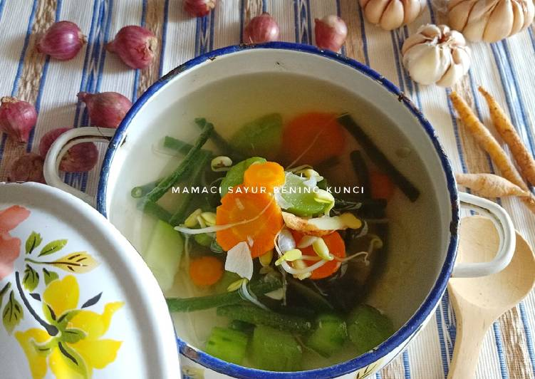 mamaci-sayur-bening-kunci