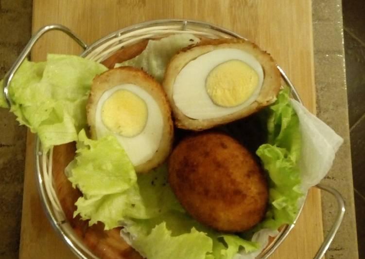 Scotch Eggs#deepfriedsnack