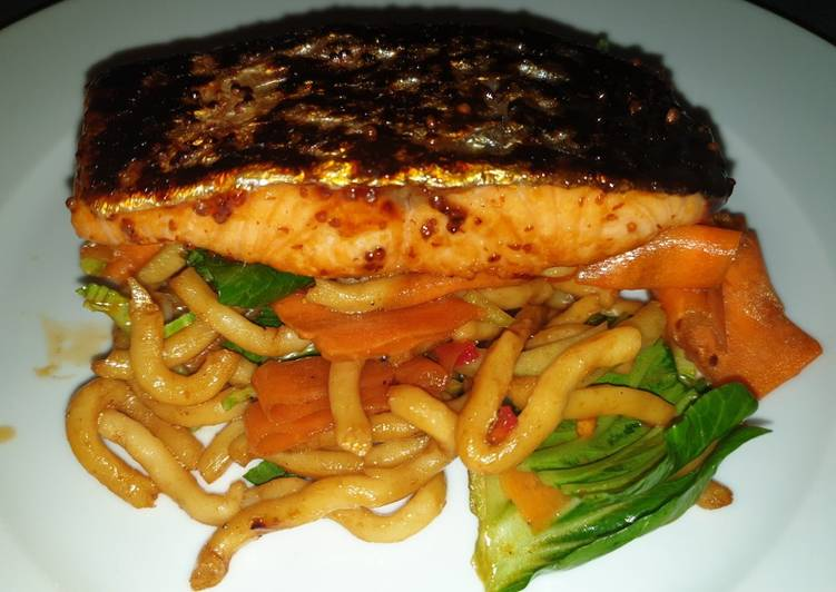 Step-by-Step Guide to Make Speedy Oriental Salmon