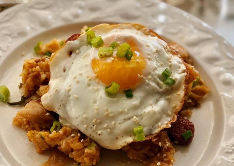 Kimchi Fried Rice!😋 (Non Keto)