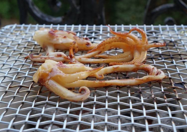 Recipe of Ultimate Grilled squid in Japanese taste