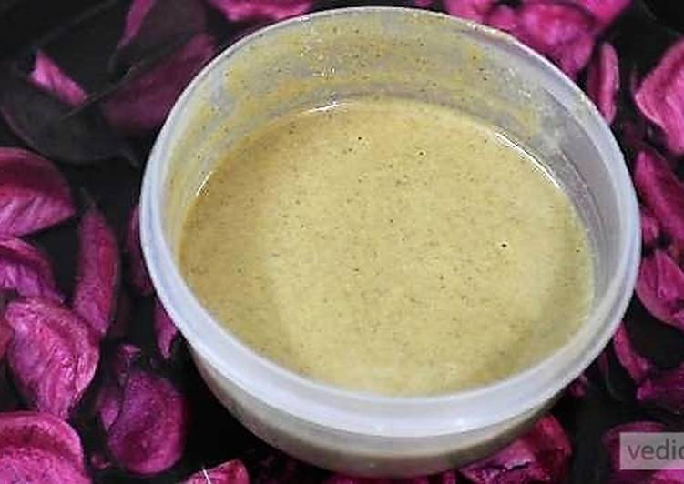 Recipe of Homemade Tahini sauce recipe