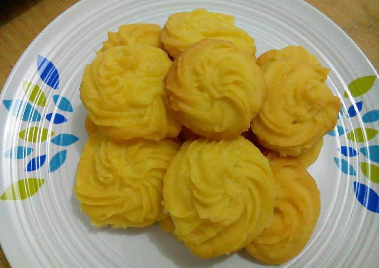 Resep Butter Cookies Vegan Anti Gagal