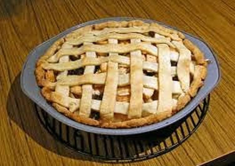 Steps to Prepare Homemade Easy Apple Pie
