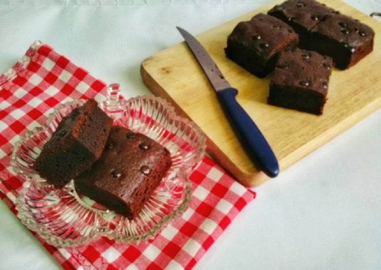 Brownies Coklat 3 Bahan