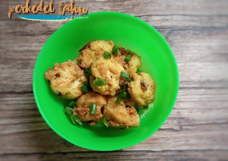 Perkedel Tahu Simple - cookandrecipe.com