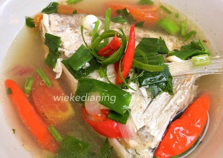 Sup Kakap simple dan segar