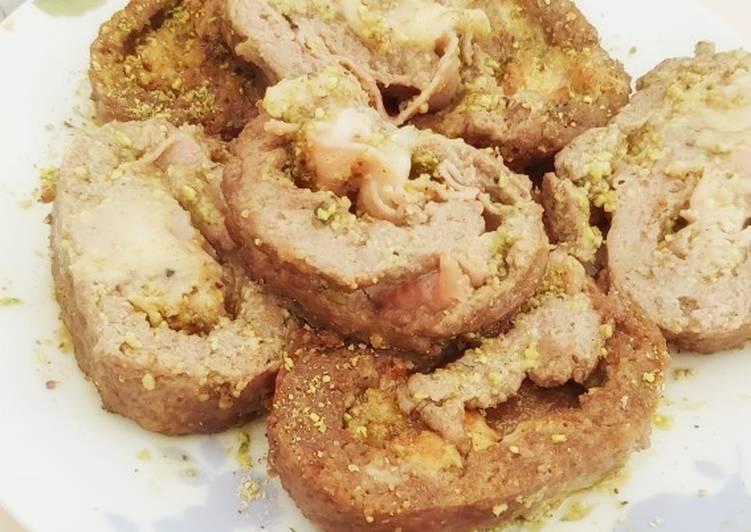 Rotolo di tritato al pistacchio (Ricetta Bimby)