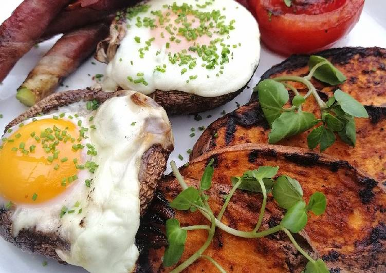 Recipe of Super Quick Homemade Bbq breakfast