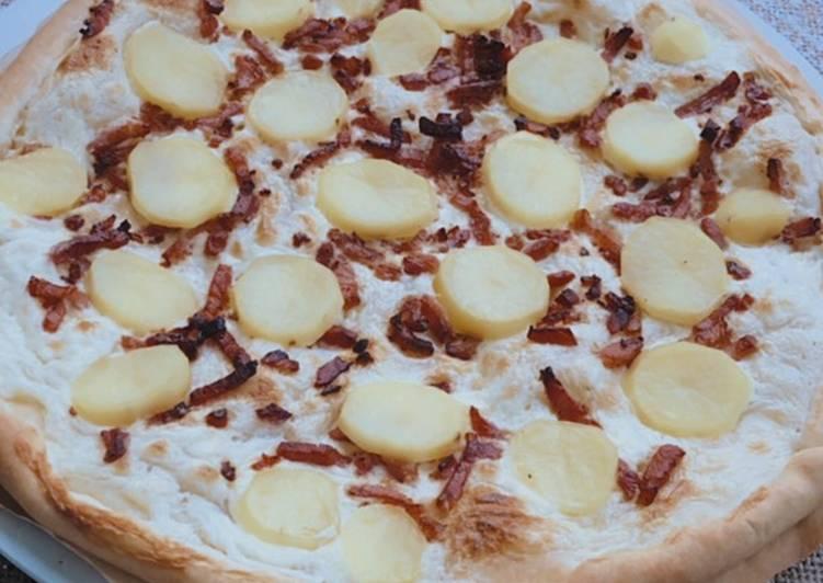 Comment Cuisiner Pizza savoyarde