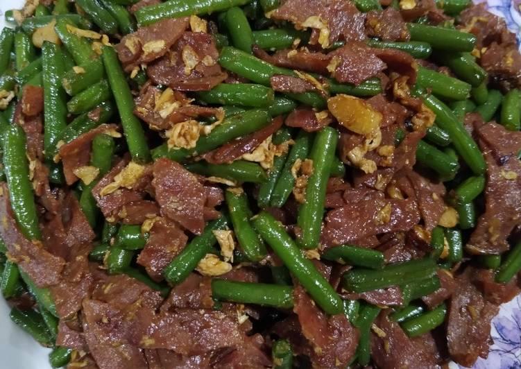 cah-buncis-daging-asap-ala-chinese-food