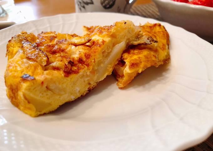 Spanish omelette for weekend breakfast