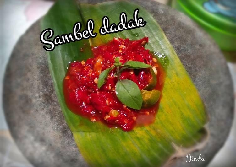 Sambal dadak warung sunda ala erna's kitchen