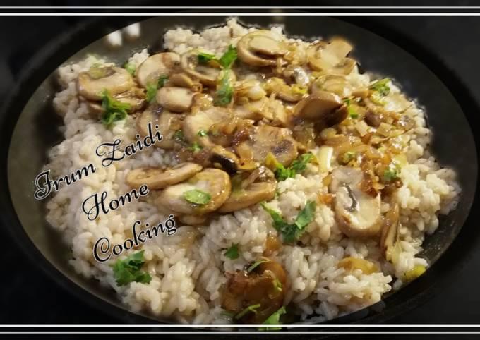 🍛Risotto🍛  (Chicken & Mushroom)