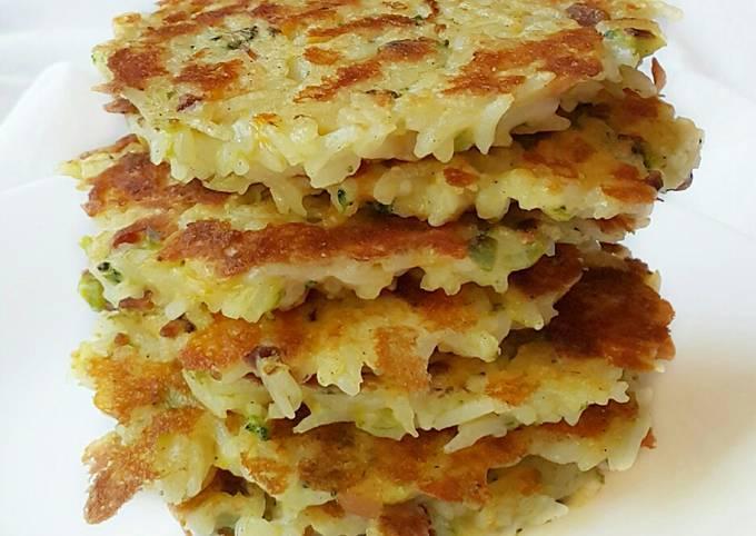 How to Make Quick Rice Pancake