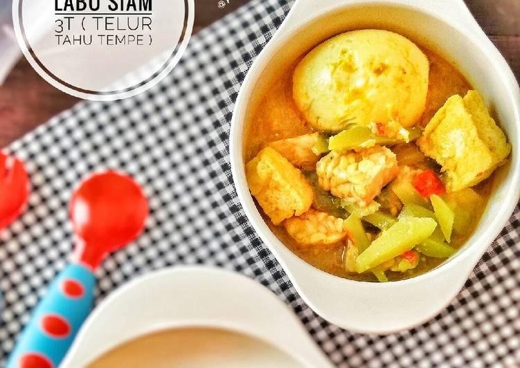 Cara Gampang Menyiapkan Sayur Lodeh Labu Siam 3T Anti Gagal