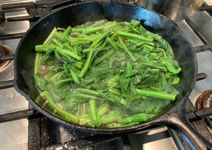 Fast Chinese Veggie Stirfry