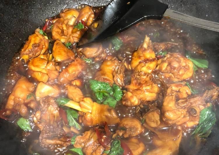 Ayam Pedas Basil Thailand