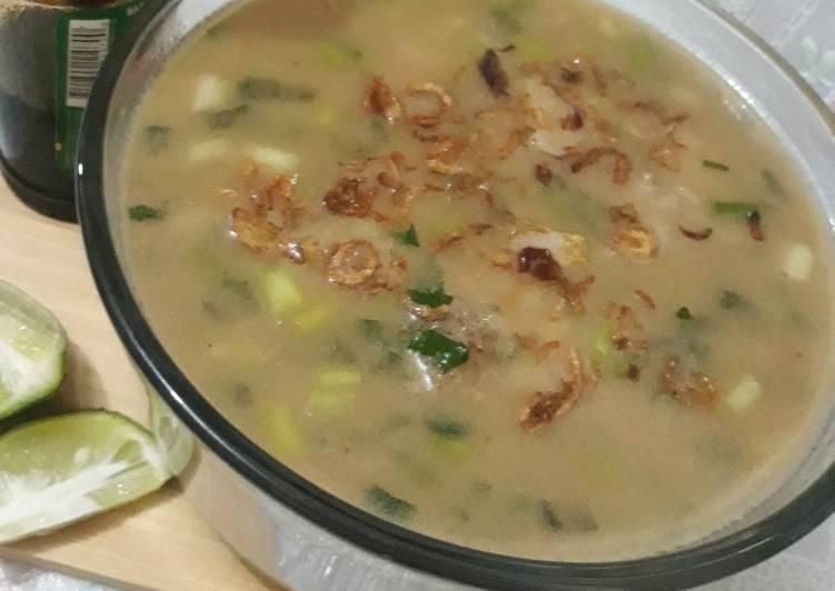 Coto Ayam Makassar Plus Susu